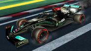 Mercedes-AMG Petronas 2021 decal image