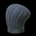 Chefs hat topper icon black