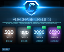 Epic Games Credits Pricing GBP image