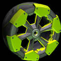 Clodhopper wheel icon lime