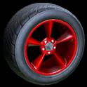 Stern wheel icon crimson