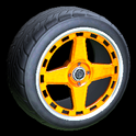Alchemist wheel icon orange