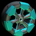 Clodhopper wheel icon sky blue