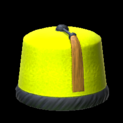 Fez topper icon saffron