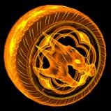 Draco Holographic wheel icon
