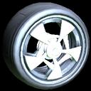 Masato wheel icon titanium white