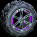 Trahere wheel icon purple