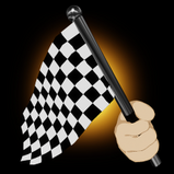 Chequered Flag goal explosion icon