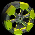 Clodhopper wheel icon saffron