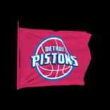 Detroit Pistons antenna icon