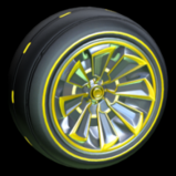 Polyergic wheel icon