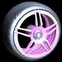 Gaiden wheel icon pink