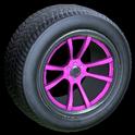 OEM wheel icon pink