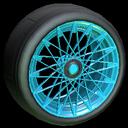 Yamane wheel icon sky blue
