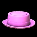 Pork pie topper icon pink