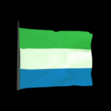 Sierra Leone antenna icon