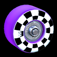 Sk8ter wheel icon purple