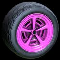 Veloce wheel icon pink