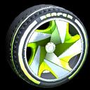 Reaper wheel icon lime