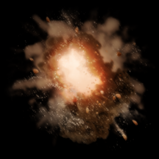 Dust Cloud goal explosion icon