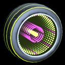 Infinium wheel icon lime
