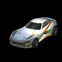 Komodo body icon orange