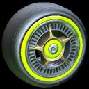 SLK wheel icon lime