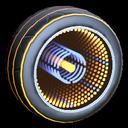 Infinium wheel icon orange
