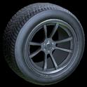 OEM wheel icon grey