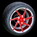 Quimby wheel icon crimson