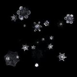Snowflakes rocket boost icon