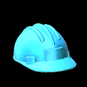 Hard hat topper icon sky blue