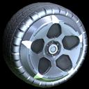 Diomedes wheel icon titanium white