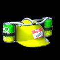 Drink helmet topper icon saffron