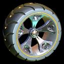 Wrench-Roller wheel icon orange