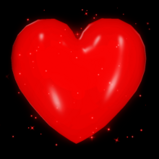 Hand Heart goal explosion icon