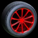 Dieci wheel icon crimson
