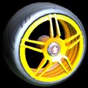 Gaiden wheel icon orange