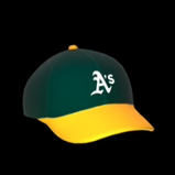 Oakland Athletics topper icon