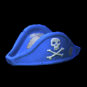 Pirates hat topper icon cobalt