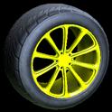 Dieci wheel icon saffron