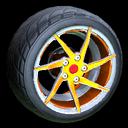 Quimby wheel icon orange