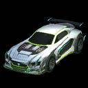 Maverick GXT body icon lime