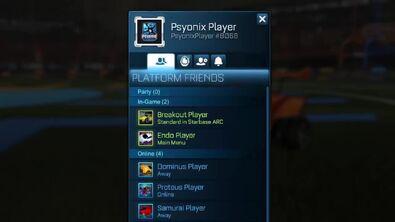 Friends menu1