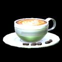 Latte topper icon titanium white