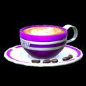 Latte topper icon purple