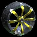 Picket wheel icon saffron