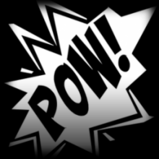 POW! decal icon