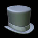 Top hat topper icon grey