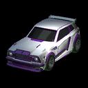 Fennec body icon purple